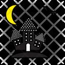 Autumn Bat Black Icon