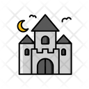 Castle Building Tower Icon