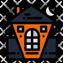 Halloween Castle Scary Castle Haunted Castle Icon