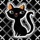 Halloween Cat Evil Cat Black Cat Icon
