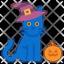 Halloween Cat Cat Veterinary Icon