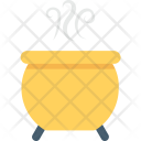 Halloween Cauldron Pot Icon