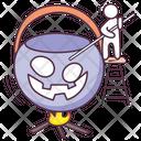Halloween Soup Halloween Gazpacho Halloween Consomme Icon