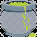 Halloween Cauldron Halloween Pot Halloween Cookpot Icon