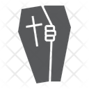 Halloween Coffin Death Icon