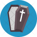 Halloween Coffin Halloween Casket Dreadful Icon