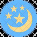 Crescent Halloween Crescent Sky Moon Icon