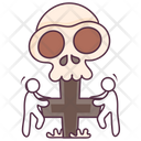 Halloween Cross Icon