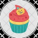 Halloween Cupcake Icon