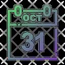 Halloween Date Icon