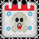 Halloween Day Calendar Icon