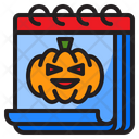 Halloween Day Halloween Date Icon