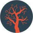 Halloween Dead Tree Icon