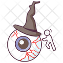 Halloween Eye Evil Eye Eyeball Icon