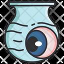 Halloween Eyeball Pot Icon