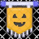 Scary Flag Halloween Flag Flaglet Icon