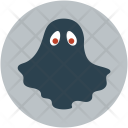 Halloween Ghost Black Icon
