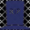 Halloween Gravestone Icon