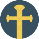 Halloween graveyard cross Icon