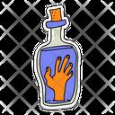 Halloween Hand Ghost Hand Zombie Hand Icon