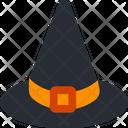 Halloween Hat Wizard Hat Witch Hat Icon