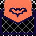 Mail Invitation Halloween Icon