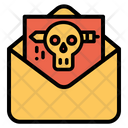 Envelope Halloween Horror Icon