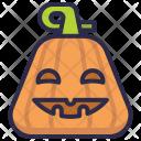 Halloween Jack-O-Lantern Icon