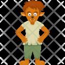 Lion Aggression Kid Icon