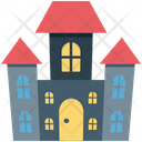 Halloween Horror Castle Horror Castle House Icon