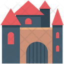 Halloween Mansion Halloween Castle Horror Castle Icon