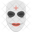 Massacre Mask Scary Icon