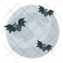 Halloween Moon Icon