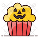 Halloween Muffin Icon