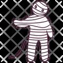 Halloween Mummy Halloween Zombie Mummified Icon