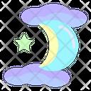 Halloween Night Night Moon Icon