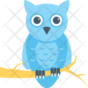 Owl Halloween Scary Icon