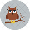 Halloween Owl Scary Icon