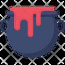 Halloween Pot Cauldron Pot Pot Icon