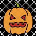 Halloween Pumpkin Carved Pumpkin Scary Pumpkin Icon