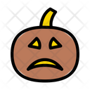 Pumpkin Scary Halloween Icon