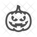 Horror Pumpkin Graveyard Icon