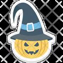 Halloween Pumpkin Scary Dreadful Icon