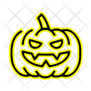 Halloween Pumpkin Halloween Vegetable Icon