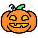 Pumpkin Halloween Holiday Icon