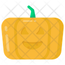 Carved Pumpkin Halloween Pumpkin Scary Pumpkin Icon