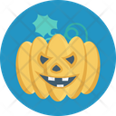Halloween Pumpkin Celebration Halloween Festival Icon