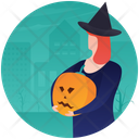 Halloween Pumpkin Halloween Decoration Party Theme Icon