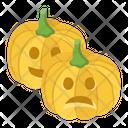 Halloween Pumpkins Carved Pumpkin Horror Pumpkin Icon