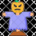 Halloween Scarecrow Icon